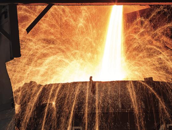 炼钢过程中的气体供应
