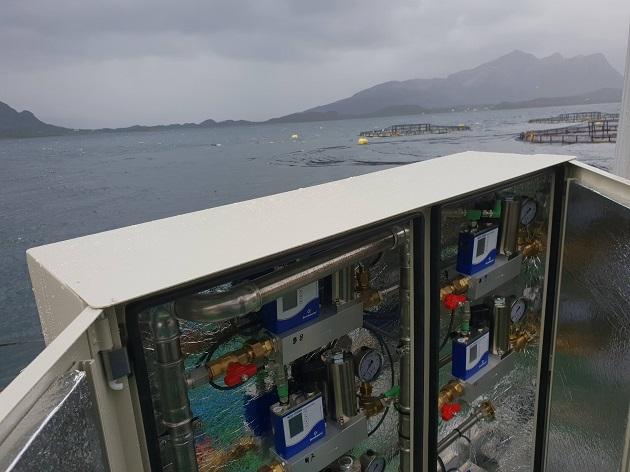 曝气之于养鱼场应用