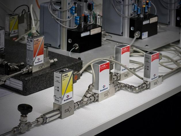 质量流量设备的校准装置