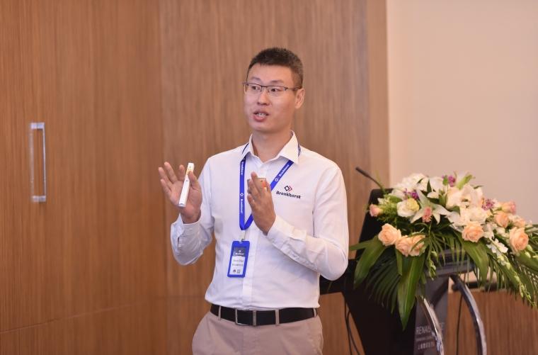 布琅轲锶特华南区销售经理赵清波先生