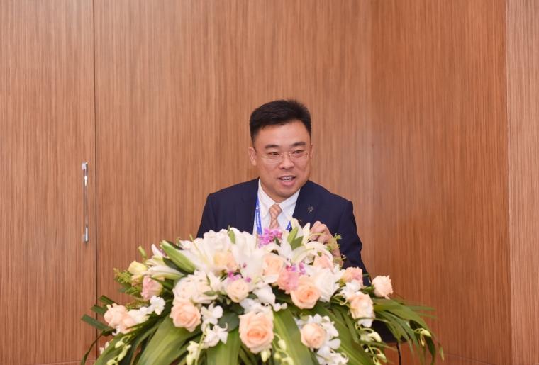 布琅轲锶特中国区市场经理倪长旺先生