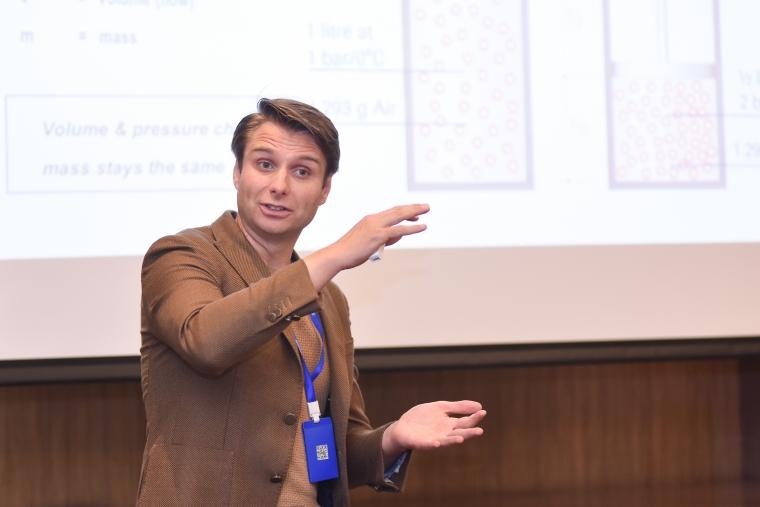布琅轲锶特亚太区市场开发经理Dirk Jan Boudeling
