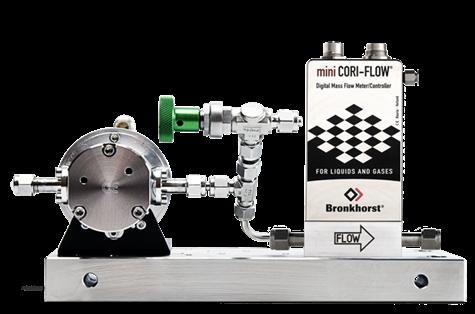 科里奥利质量流量计与泵组合